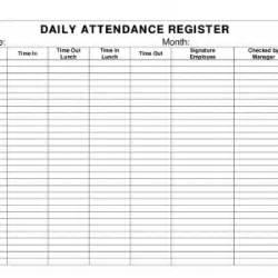 template for attendance register student attendance sheet template selimtd