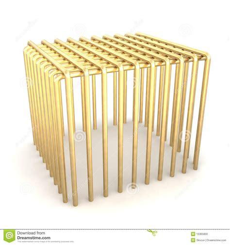 gabbia dorata gabbia dorata illustrazione di stock immagine di dorato