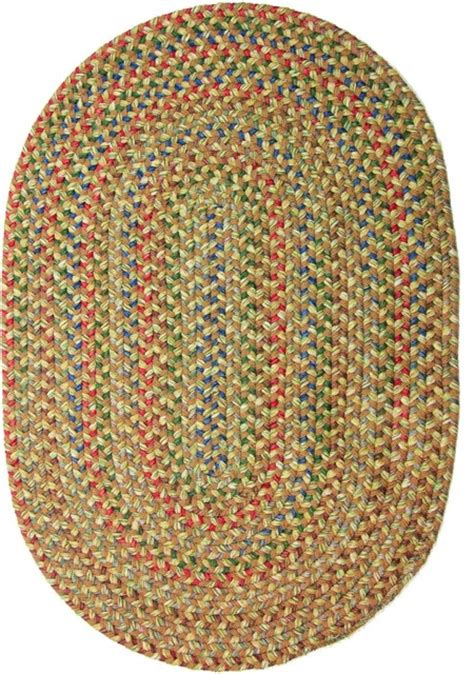 Large Braided Area Rugs 8 X11 Oval Large 8x11 Rug Camel Beige Textured Braided Farmhouse Area Rugs By