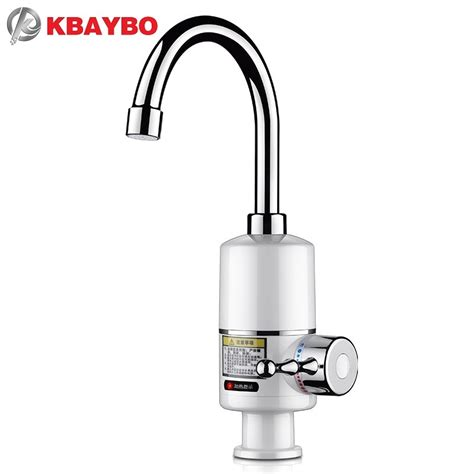 Instant Water Faucets by 3000w Tankless Faucet Water Heater Instant Electric Water