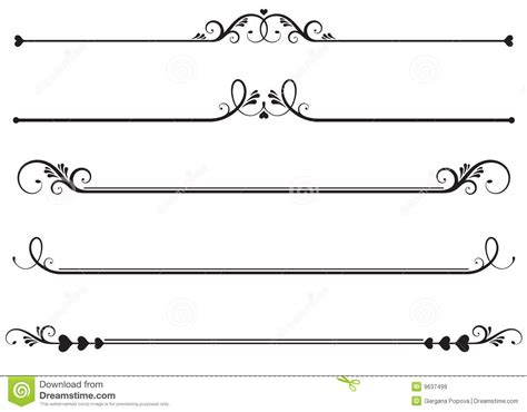 Roundhand Gratis Bb Line Friend lineas ornamentales o lineas decorativas l 237 neas decorativas