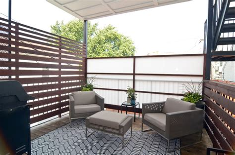 balcony privacy screen ideas with beautiful appearance