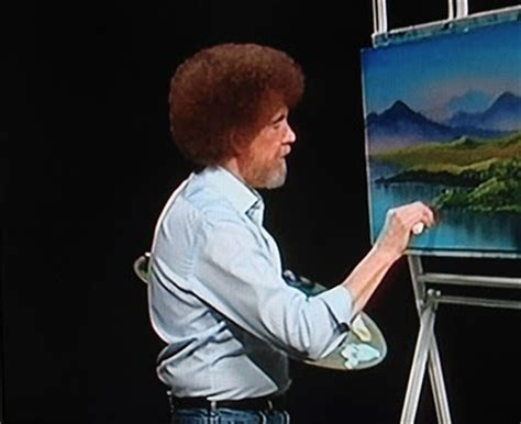 bob ross painting pbs bob ross may we never forget the pbs god and afro maniac