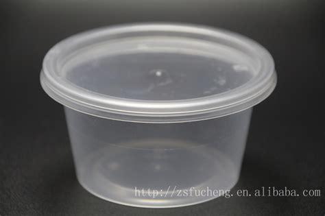 piccoli contenitori in plastica per alimenti 250ml 500ml piccoli contenitori di plastica rotondo con