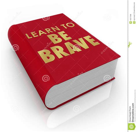 bare bravery how to be creatively courageous books learn to be brave self help book cover title stock