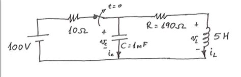 capacitors kirchoff s capacitor discharging rlc kirchhoff s second electrical engineering stack exchange