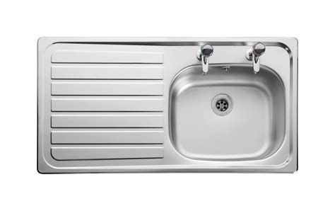 second hand kitchen sinks leisure lexin le95l 1 0 bowl 2th stainless steel inset