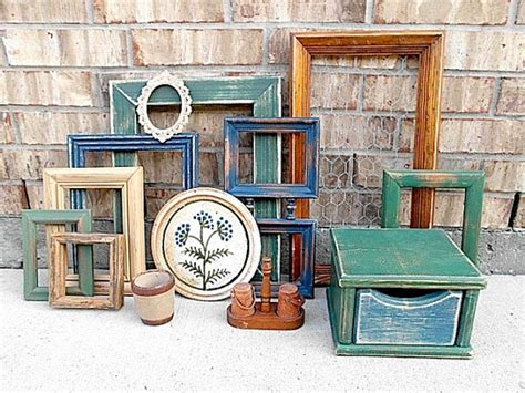 upcycled home decor upcycled vintage home decor collection farmhouse by