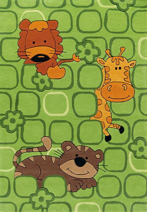 kinderzimmer teppich tiere arte espina kinderteppich zootiere gr 252 n kinderlenland de