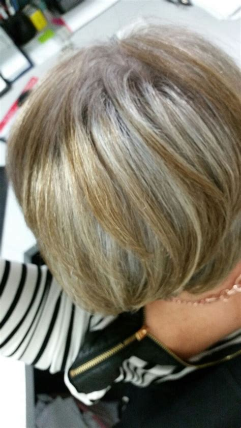 highlighting hair to transition to gray 17 best images about hairstyles on pinterest brown
