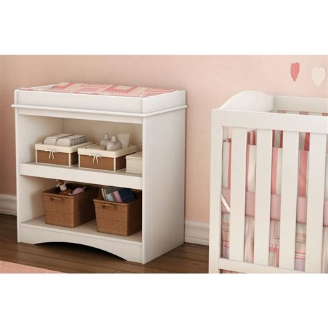 south shore peek a boo changing table south shore peek a boo white changing table 2260334