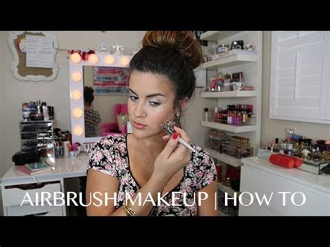 airbrush makeup how to easy