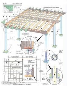 How to build a pergola step by step davis homemade amp diy