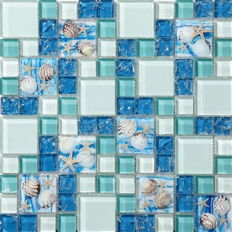cheap bathroom tile ideas best 25 blue glass tile ideas on coastal
