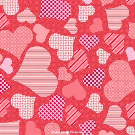 imagenes vectores san valentin fondo de corazones de san valent 237 n descargar vectores gratis