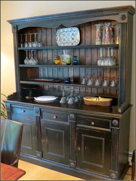 hutch kitchen furniture furniture endearing corner china hutch with glass window door display for home furniture