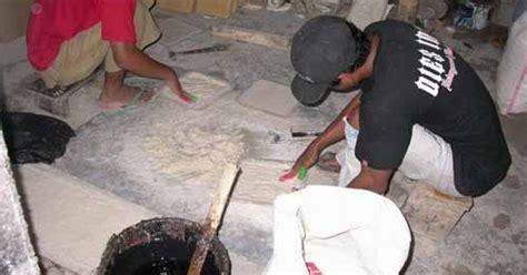 lesoc bahan baku alami batu kerajinan