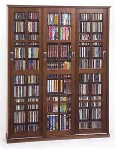 Glass Door Dvd Storage Cabinet Glass Door 1050 Cd 504 Dvd Storage Cabinet Rack New Ebay