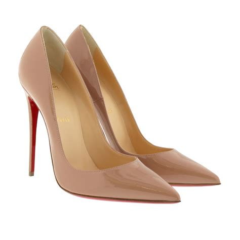 christian louboutin passend zur tasche schuhe pumps so kate 120 patent leather pumps in
