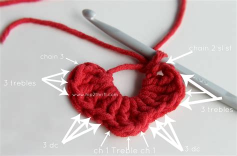 crochet hearts craftaholics anonymous 174 how to crochet a