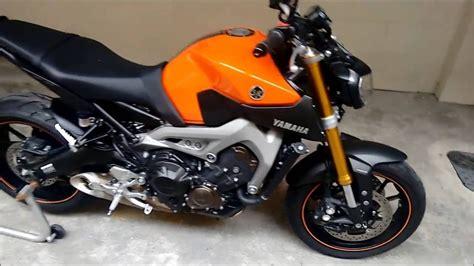 Motorradzubehör Yamaha Mt 09 by Yamaha Mt 09 Laranja Apresenta 199 195 O Mouse Xj Youtube
