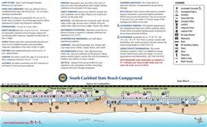 Carlsbad State Beach Campground Map south carlsbad state beach maplets