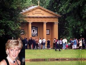 where is diana buried tourists flock to grave of rock stars and icons travel travel news and holiday deals