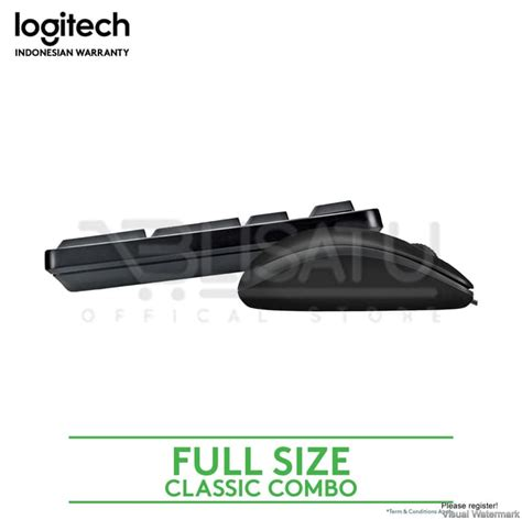 Logitech K100 Keyboard Kabel Ps 2 jual logitech keyboard k100 ps2 mouse b100 kabel