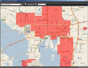 Zip Code Map Tampa by This Should Be A Sticky Maps Of The Good Bad Parts Of