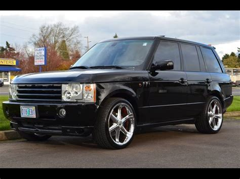 2005 land rover range rover information and photos