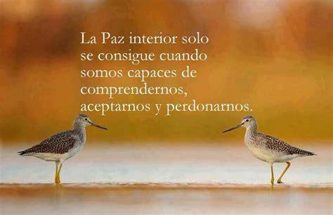 reflexiones y pensamientos sobre la vida paz interior la paz interior se consigue eres importante