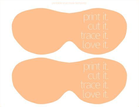 sissyprint freebie friday printable spa mask template
