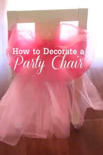 diy how to decorate a princess chair catch my