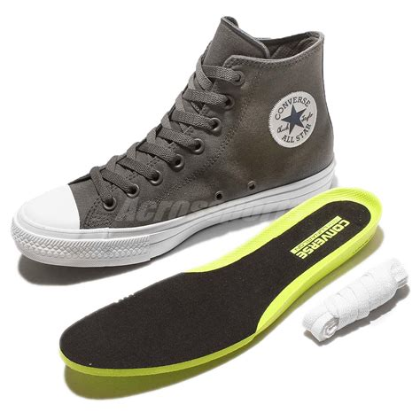 Sepatu Converse Chuck 2 Low Grey converse chuck all ii 2 thunder grey white casual shoes 150147c ebay