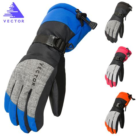 cheap waterproof motorcycle aliexpress com buy vector women men ski gloves snowboard