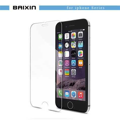 Tempered Glass Clear Iphones 7 Plus 5 5 In Belakang Kaca Bening 9h tempered glass for iphone 4s 5 5s 5c se 6 6s plus 7