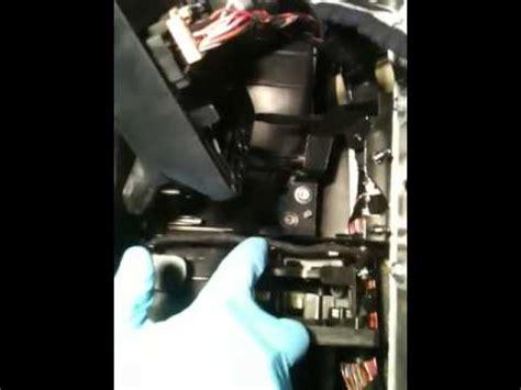 vw rabbit air recirculator flap motor youtube