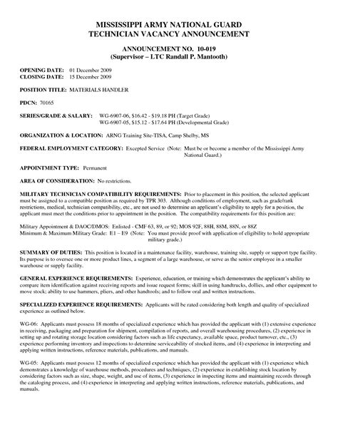 Air National Guard Sle Resume by Army National Guard Resume List Sales Guard Lewesmr