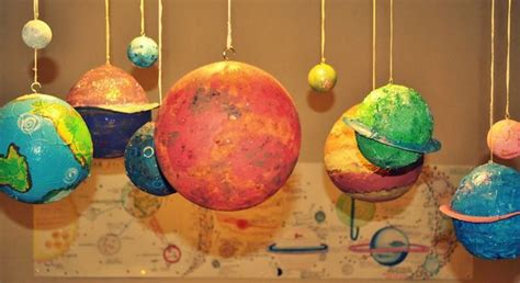 How To Make A Paper Mache Sun - 3 ways to make papier m 226 ch 233 planets wikihow