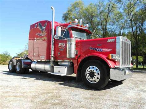 peterbilt 379 2004 sleeper semi trucks