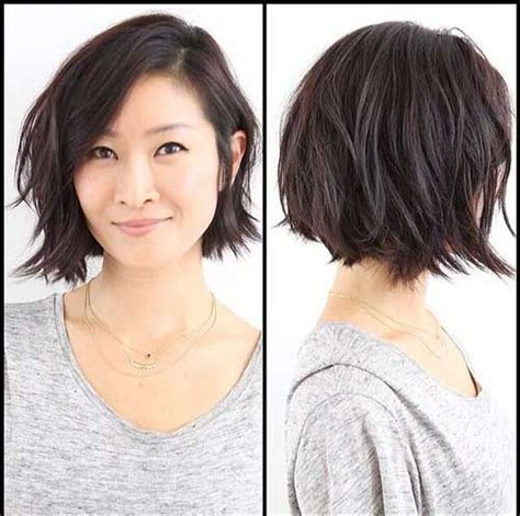 textured shag haircut 15 messy bob hairstyles for casual looks http www