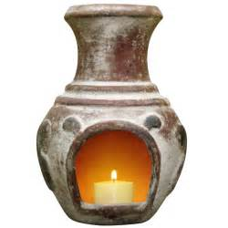 Indoor Chiminea Sale Gardeco Espana Candle Chiminea With Candle On Sale Fast