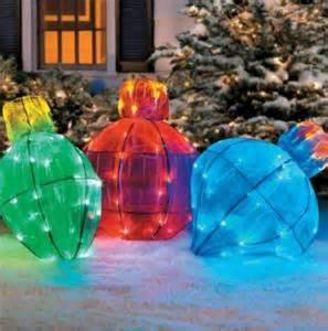 jumbo christmas light outdoor lighted light bulb yard sculpture decoration ebay