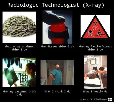 Rad Meme - radiologic technologist what my friends think i do memes