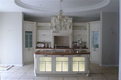 White Kitchen Cabinets With Glass Classic White Kitchen Cabinets Glass Doors Lh Sw064 In Kitchen Cabinets From Home Improvement
