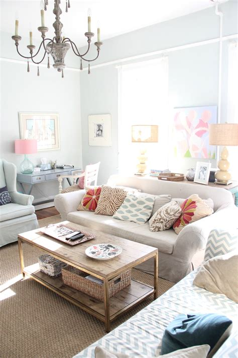 sea salt living room my country house