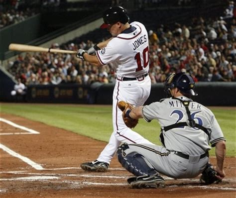 chipper jones swing hitting is timing be a better hitter