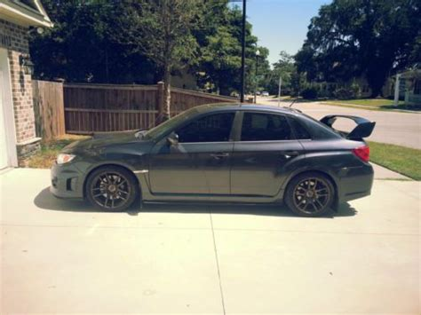 subaru impreza 2013 modified find used 2013 wrx sti limited grey metallic fully