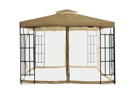 pavillon regenschutz garten pavillon foxhunter lbrown f 252 r terrasse regenschutz