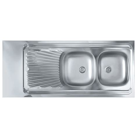 Evier Inox A Poser by Evier Inox 224 Poser 140 Cadre Bois Nord Inox